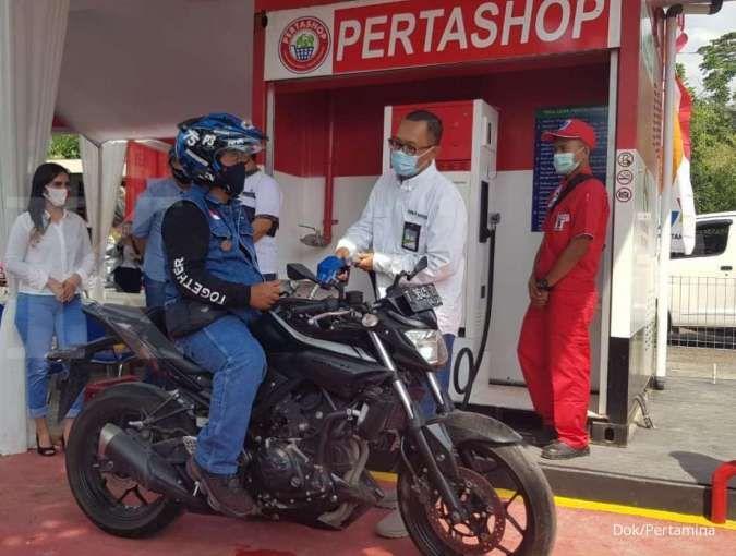 Konsumsi BBM Pertashop di Lampung capai 500 liter per hari