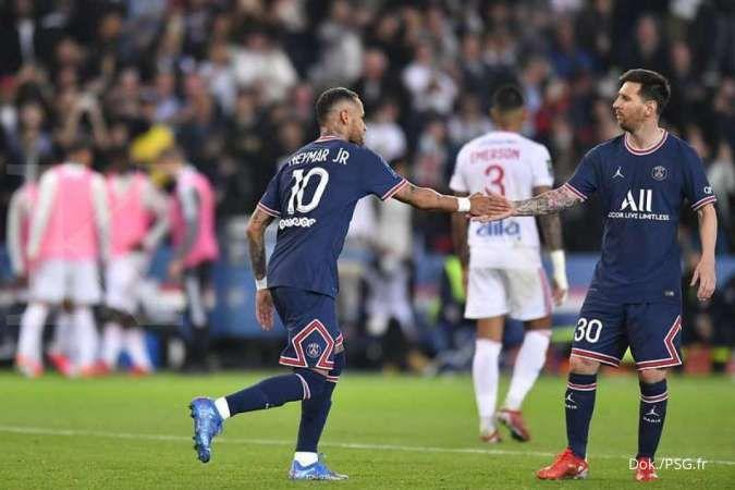 Mauricio Pochettino ungkap alasan tarik Lionel Messi di tengah laga PSG vs Lyon