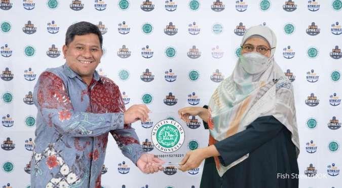Restoran Fish Streat mengantongi sertifikasi halal dari MUI