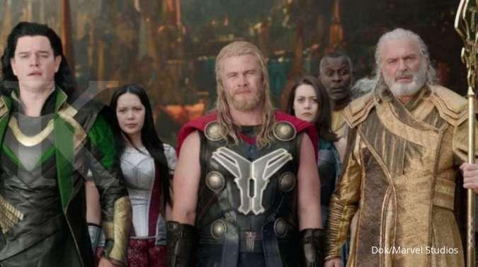 Matt Damon, Luke Hemsworth, dan Sam Neill sebagai cameo di film Thor: Ragnarok.