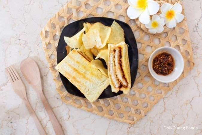 Sedap, Gudeg Banda di Bandung luncurkan menu Banda Toast