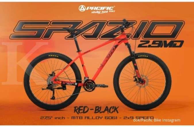 Baru beredar, harga sepeda gunung Pacific Spazio 2.9 dibanderol super terjangkau