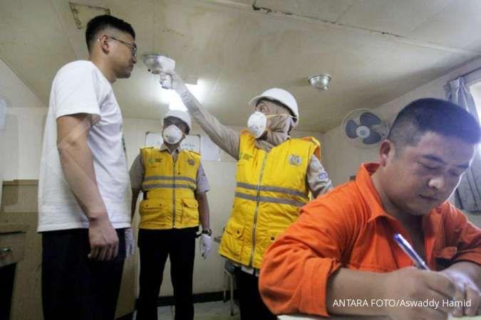 Penumpang internasional pelabuhan Bintan dan Tanjungpinang diperiksa thermal scanner