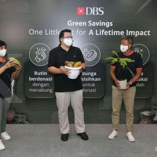 Permudah Nasabah Berkontribusi Sosial dan Lingkungan dengan Menabung, Bank DBS Indonesia Hadirkan Rekening Green Savings