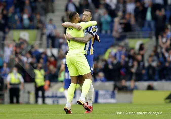 Klasemen Liga Inggris pekan kelima, Chelsea di pucuk, Brighton tembus 4 besar