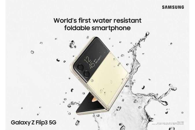 Fitur Water Resistant Jadikan Samsung Galaxy Z Flip3 Kian Tangguh