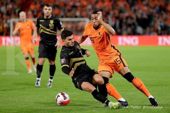 Hasil kualifikasi Piala Dunia 2022 Belanda vs Gibraltar