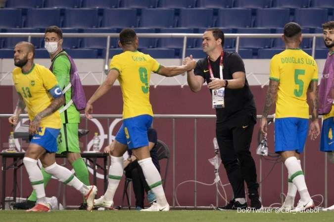 Meksiko vs Brasil di Olimpiade Tokyo 2020: Selecao incar final ketiga jumpa El Tri