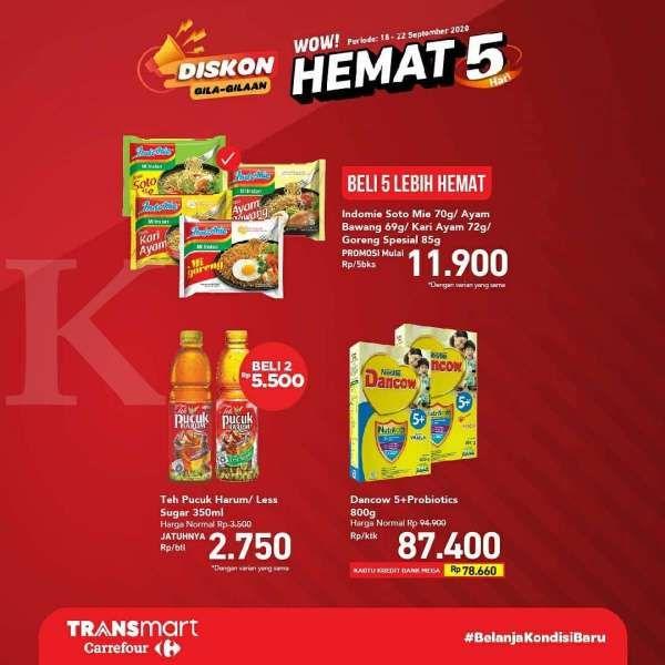 Promo Transmart Carrefour Hari Ini 20 September 2020 Harga Hemat