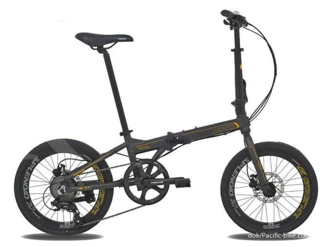 Trendy dan terjangkau, ini daftar lengkap harga sepeda lipat Pacific Splendid