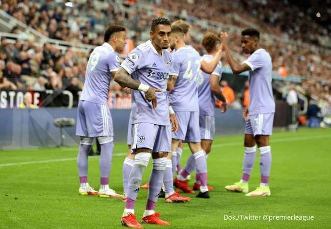 Hasil Liga Inggris Newcastle vs Leeds: The Magpies tahan laju The Whites 1-1