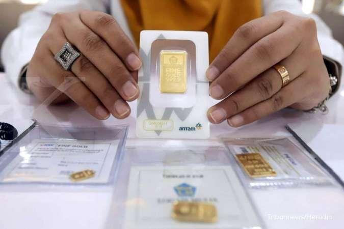Harga emas Antam di Pegadaian pagi ini Rp 1.084.000 per gram (15 Agustus 2020)