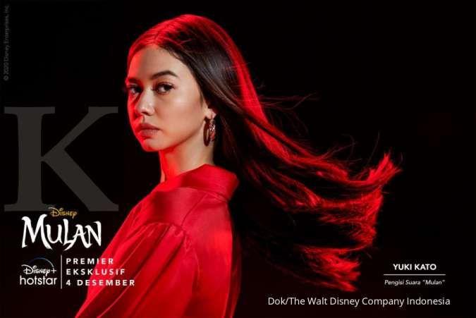 Yuki Kato mengisi suara karakter di film Mulan yang akan tayang di Disney+ Hotstar.