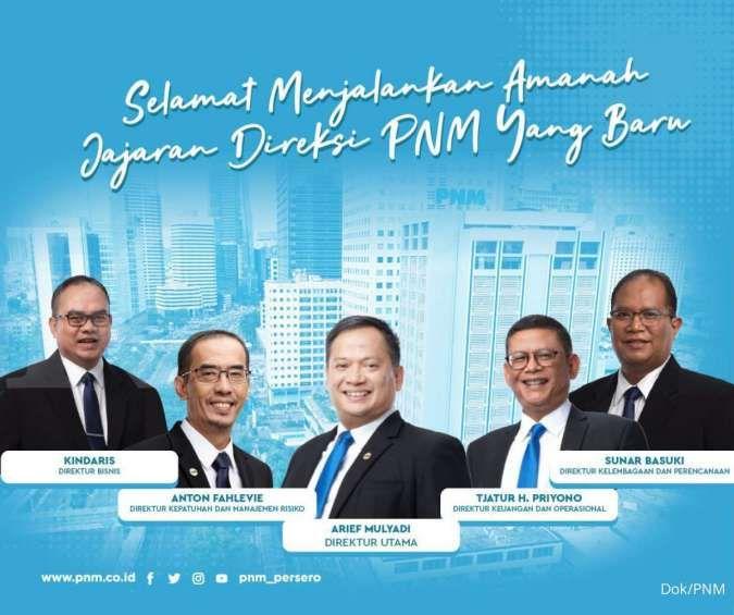 Ada perubahan nomenklatur, berikut daftar direksi baru PNM