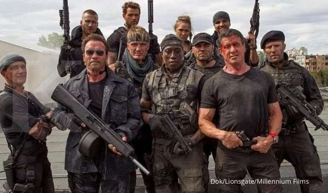 Bioskop Trans TV 15 April 2021, tonton The Expendables 3 & Fight Back to School II