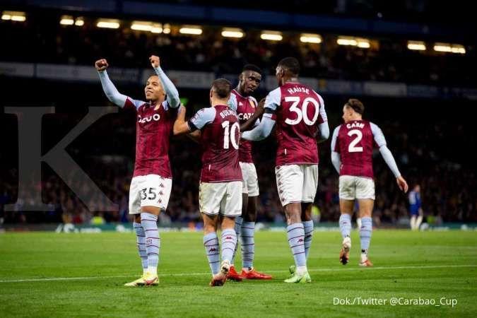 Hasil Chelsea vs Aston Villa di Carabao Cup