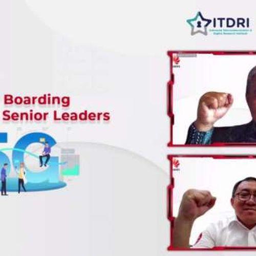 Kolaborasi IDRI dan Huawei dalam 5G on Boarding for Telkom Senior Leader