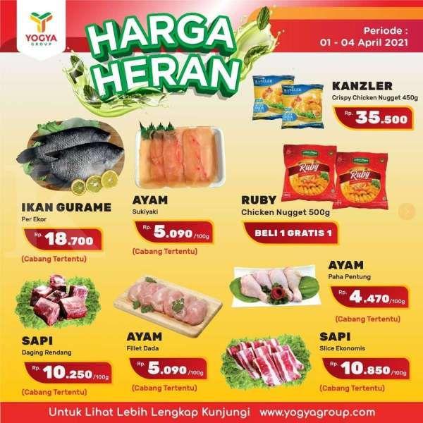 Paling baru! Promo JSM Yogya Supermarket Harga Heran, berlaku 2-4 April 2021
