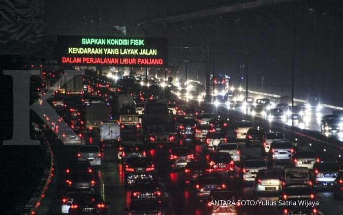 Kebijakan contraflow akan diberlakukan di jalan tol Jagorawi, Minggu (22/11)