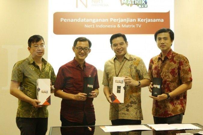 Net1 Indonesia gandeng Matrix TV hadirkan layanan 4G LTE