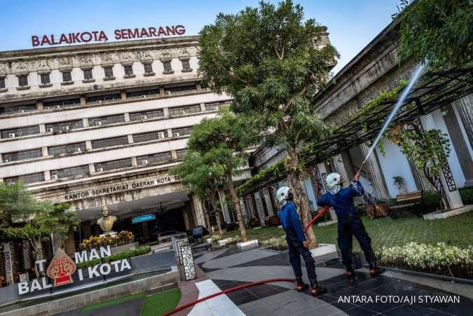 Penyebaran virus corona di Jawa Tengah Rabu (22/7) terpusat di lima kota ini