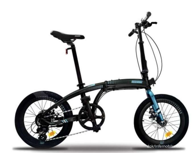 Tampil trendy, Ini daftar harga sepeda lipat Cyclo besutan Inferno Bike