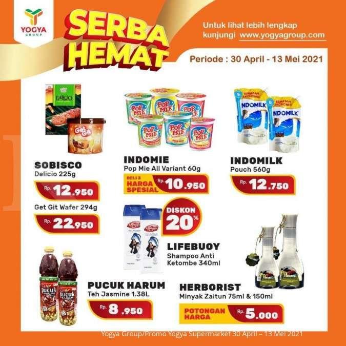 Cek promo Yogya Supermarket weekday 5 Mei 2021, Serba Hemat di hari kerja!