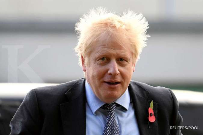 Perdana Menteri Inggris Boris Johnson positif terinfeksi corona dan mengisolasi diri