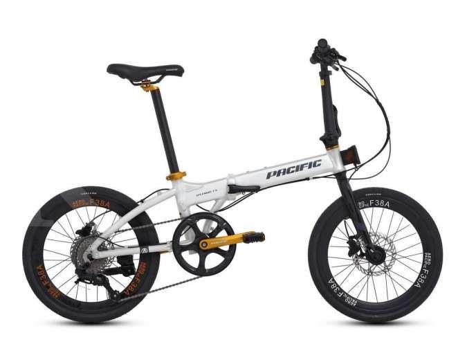 Siap diajak berkeliling kota, harga sepeda lipat Pacific Splendid FX pas di kantong