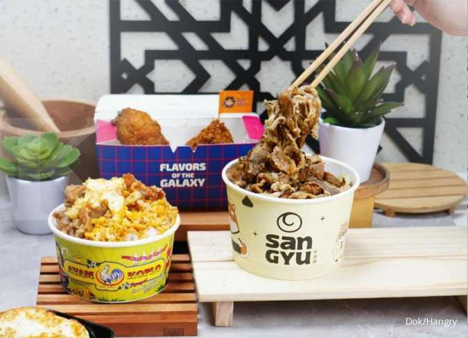 Startup kuliner multi-brand, Hangry raih pendanaan seri A Rp 188 miliar