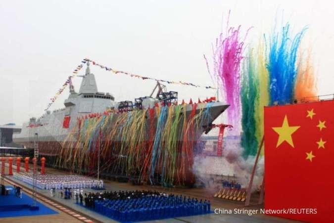 Kapal perusak Type 055 kelas 10.000 ton bergabung dengan AL China, ini kemampuannya