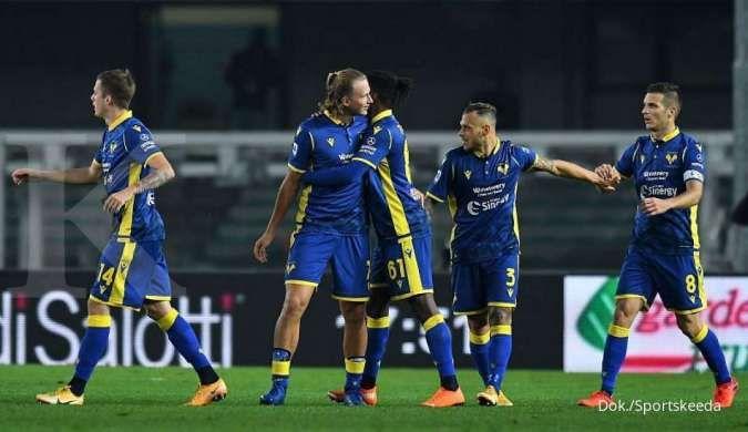 Hellas Verona vs Inter Milan di Liga Italia