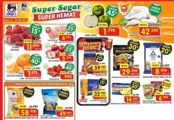 Promo Superindo weekdays 1-4 Februari 2021