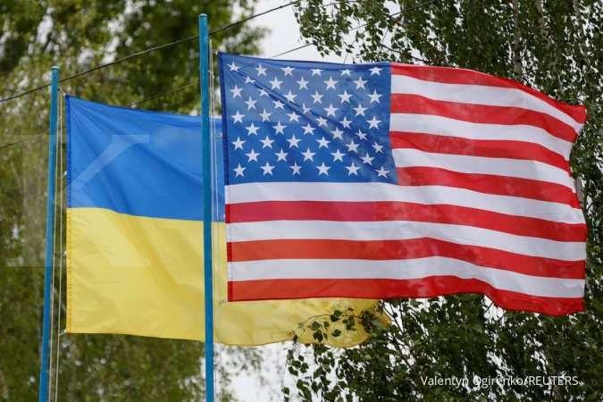Saingi Rusia dan sekutunya, Ukraina menggelar latihan militer bersama AS dan NATO