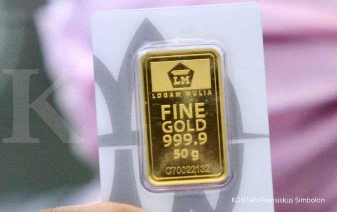 Bertahan di atas Rp 1 juta per gram, simak rincian