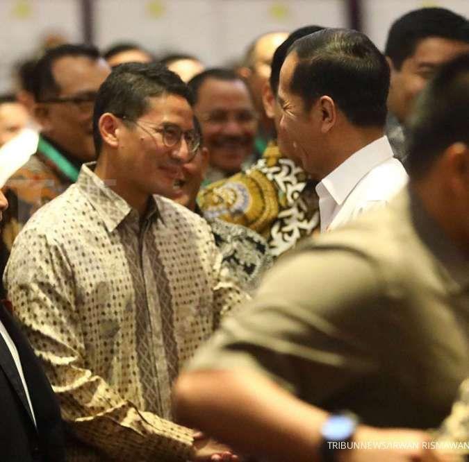 Peluang Sandiaga Uno maju Pilpres 2024 lebih besar ketimbang Anies Baswedan