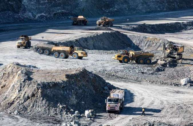Dorong eksplorasi tambang baru, Archi siap tingkatkan kapasitas produksi