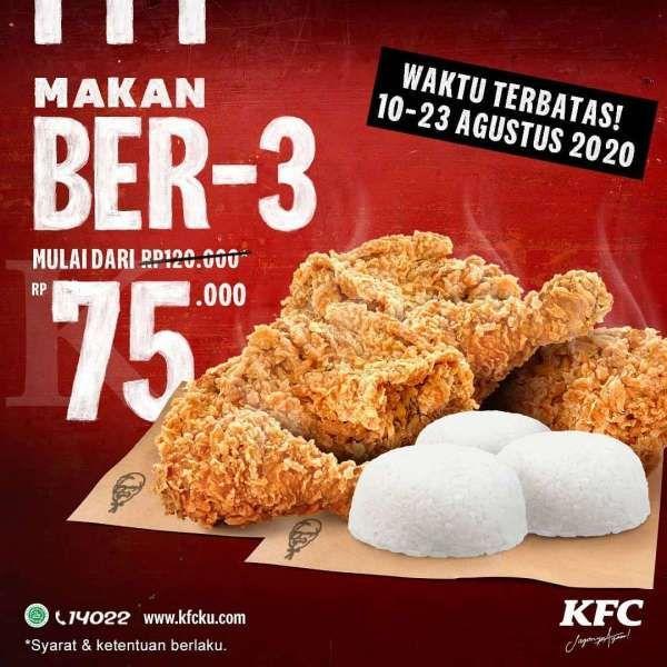 Promo KFC 10 – 23 Agustus 2020