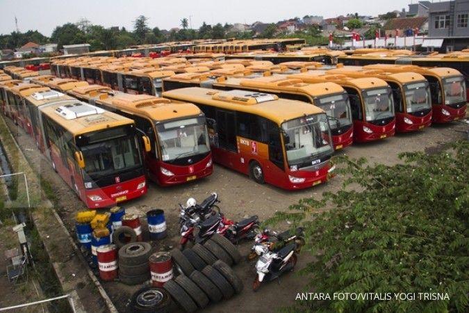 Mau tahu harga satu bus tingkat TransJakarta?