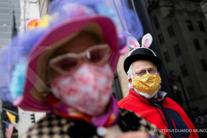 Warga Amerika yang sudah divaksin diharuskan kembali pakai masker di dalam ruangan