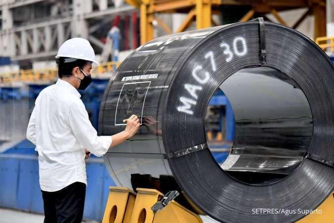 Resmikan pabrik baru Krakatau Steel, Jokowi berharap dapat tekan impor baja