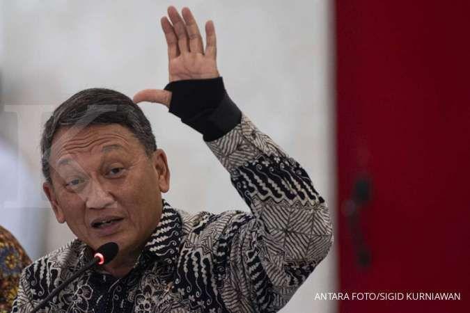 Menteri ESDMArifin Tasrif. ANTARA FOTO/Sigid Kurniawan/aww.