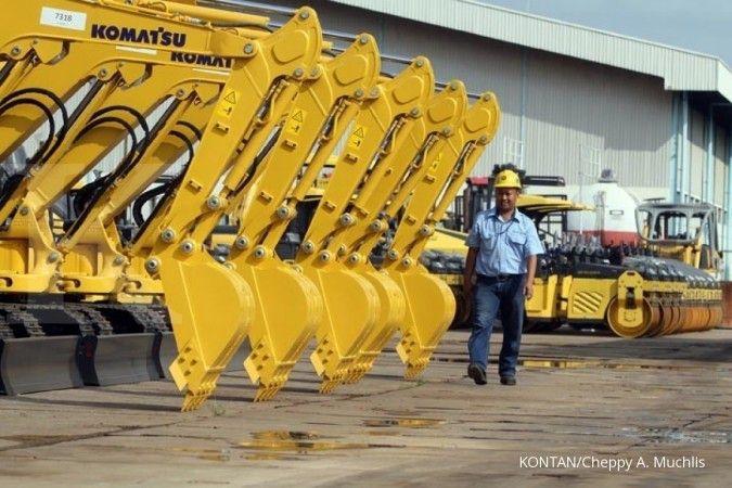 Ini penyebab penjualan alat berat United Tractors (UNTR) tertekan