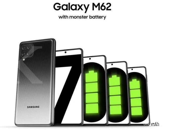 Resmi meluncur di Thailand & Malaysia, berikut spesifikasi & harga Samsung Galaxy M62