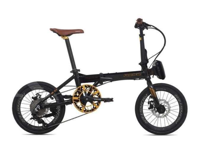 Generasi baru, Harga sepeda lipat Pacific Spendid AX 16