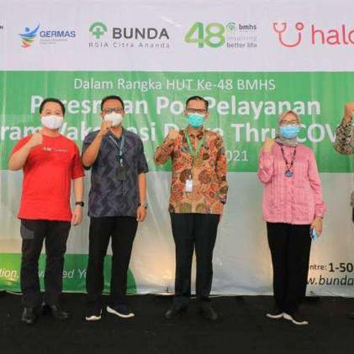 RSIA Bunda Citra Ananda Bersama Halodoc Siap Melayani Vaksinasi Covid-19 Secara Drive Dhru  bagi Warga Lansia Tangerang