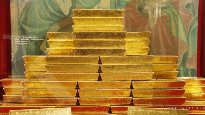 Emas sentuh level terendah dalam sebulan ini