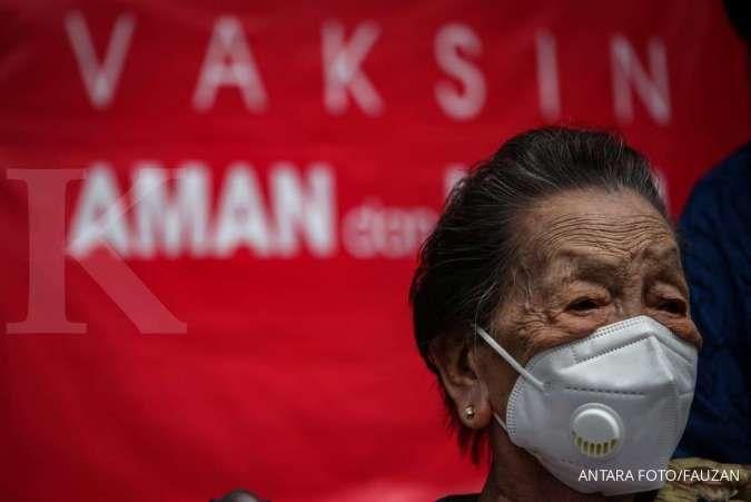 Ada 100.000 orang di Kota Tangerang telah divaksinasi, 38.000 di antaranya lansia