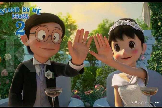 Satu hari lagi, film Stand By Me Doraemon 2 tayang di bioskop XXI dan CGV