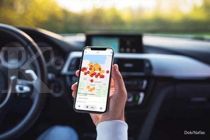 Aplikasi Nafas dapat mengukur kualitas udara secara real time